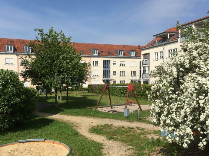 2-Raum Wohnung mit Loggia zur Westseite - TG-Stellplatz inklusive - Nähe zum Kulkwitzer See
