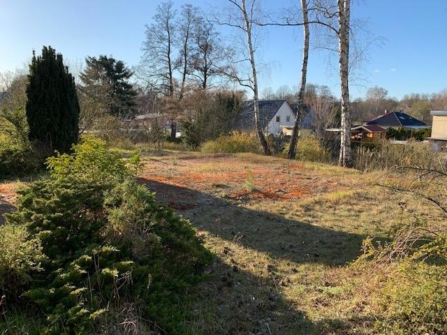 Herrliches Baugrundstück in Birkenwerder nahe der Havel