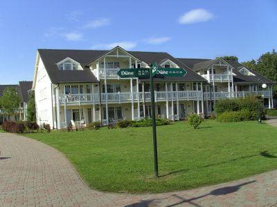 2-Zimmer-DG-Whg Dünenpark in Binz mit Loggia und ohne Visavis in ruhiger Lage nur 150 m vom Ostseestrand entfernt