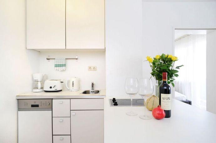 günstiger Restposten - 2 Zimmer-serviced HOMEFORTIMES-App.,Nähe Messe