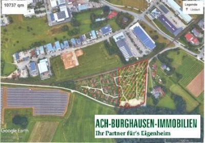 Burghausen Grundstücke, Burghausen Grundstück kaufen