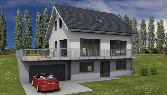 Einfamilienhaus-Neubau auf tollem Grundstück in Kürten