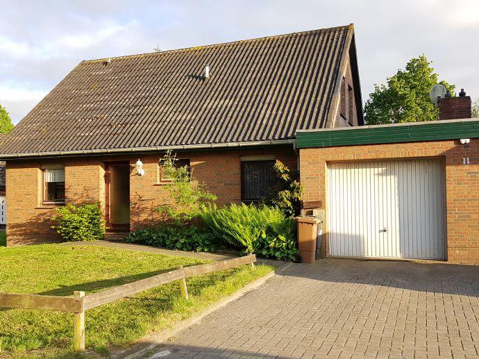 Haus mit Garage im idyllischen Eckwarden