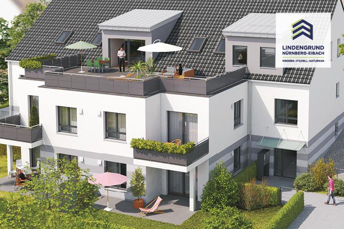 ***2-Zimmer-Neubau-ETW in Eibach - direkt vom Bauträger, keine Provision, Terrasse und Gartenanteil, barrierefrei***