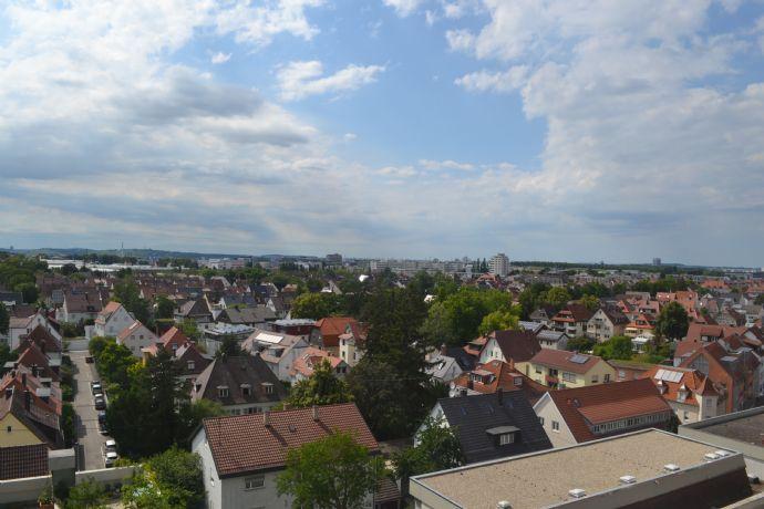 5-Zimmer-Maisonette-Wohnung mit zwei Balkonen in Fellbach