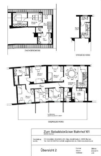WG-geeignet Tolle, helle 8-Zimmer-Wohnung in Bremen