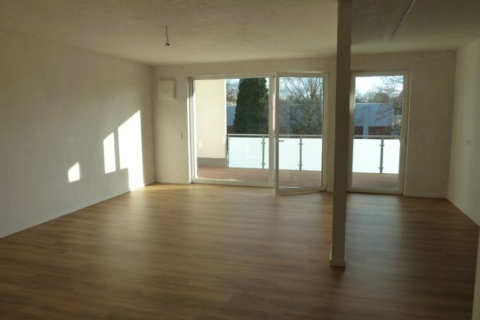 Erstbezug: Lichtdurchflutete 3,5-Raum Neubauwohnung mit Loggia in Herne-Baukau - Barrierefrei!