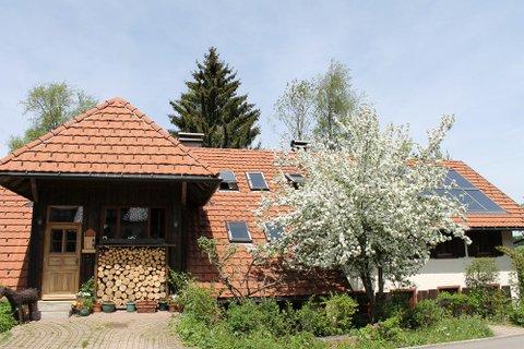Historisches Hofgut mit 4 ausgebauten Wohnungen auf 9.800 qm arrondierter Weidefläche, Offenstall, Paddock und Nebenfläche in ruhiger Ortsrandlage