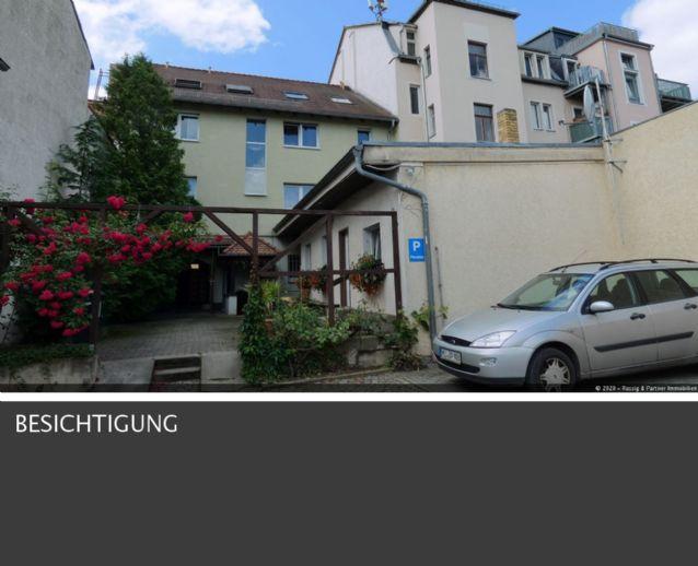 Wohn und Geschäftshaus in Radeburg, zentral gelegen mit sehr ruhigem Grundstück