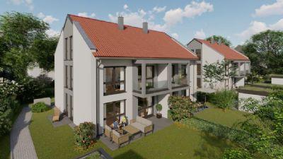 Zorneding - provisionsfrei: Großzügige Doppelhaushälfte in schöner, ruhiger Wohnlage mit großem Grundstück (bereits in Bau)