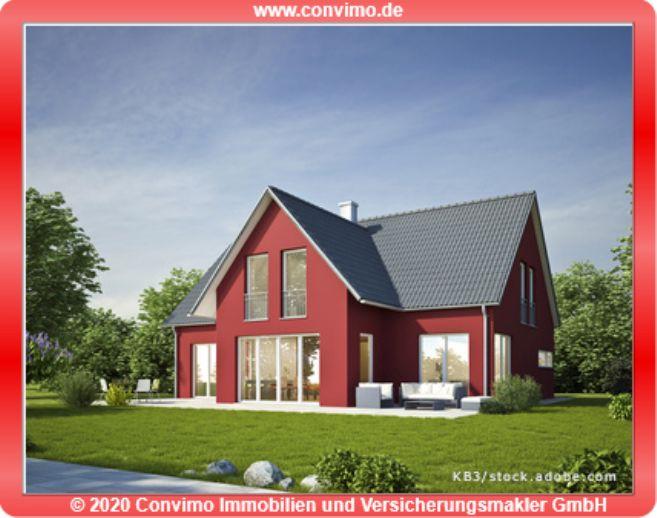 Neubauprojekt: Einfamilienhaus mit Satteldach