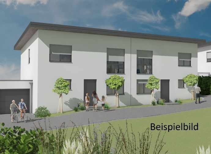 Neubau Doppelhaushälfte in Buchholz-Seifen