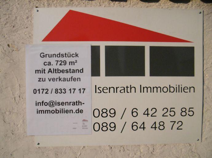 Baugrundstück ca. 729 m² mit Altbestand in Ingolstadt-Südwest.