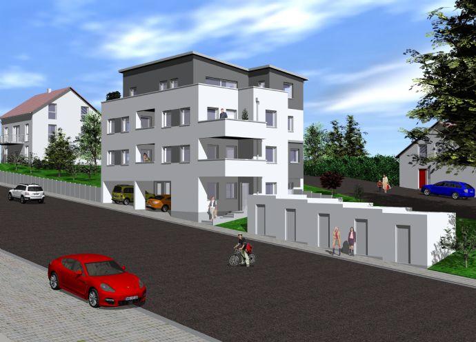 Neubauwohnung 3ZKB mit Süd-Balkon in Ommersheim