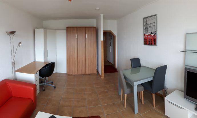 Große, helle und möblierte 1-Zimmerwohnung in zentraler Lage von KL