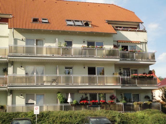 3-Raumwohnung mit Balkon in Zentrumsnähe am Stadtpark