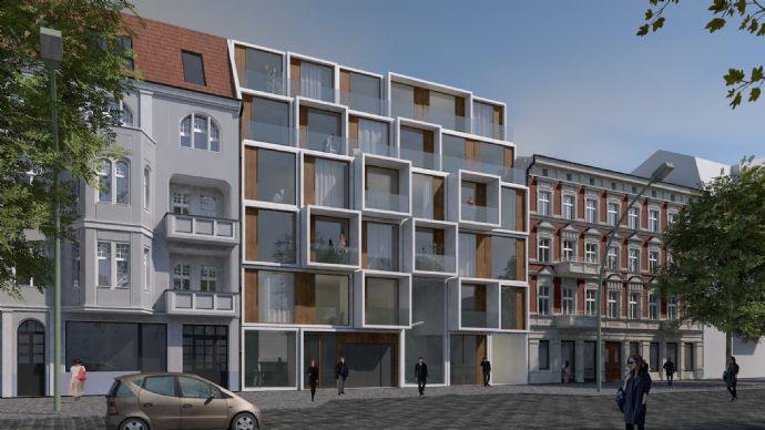 Wohnen mit Anspruch: 3- Zimmerwohnung mit zwei Balkonen im Neubauprojekt NEUE FLORAHÖFE