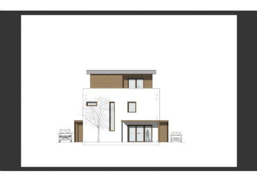 Neubau-Doppelhaushäfte in Bestlage von Soest West.