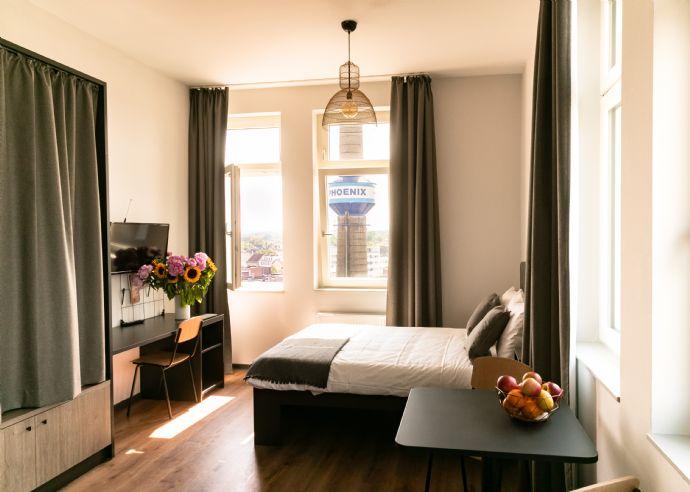 Helles möbliertes 20qm Apartment oberste Etage Hamburg/Harburg