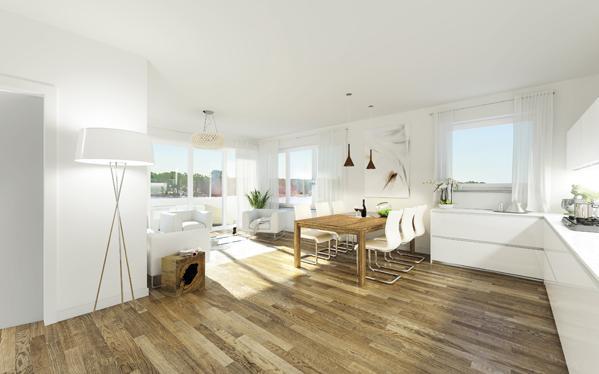Traumvilla im modernen Stil! - Sie wohnen auf 3 Etagen mit 251,4 m² Wohnfläche, 2 großen Terrassen und 2 Tiefgaragen-Stellplätze