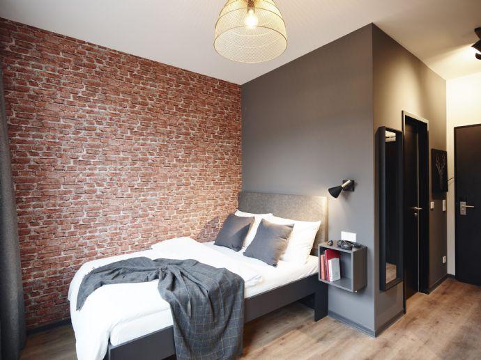 Möbliertes Apartment mit Balkon 20qm Hamburg/Harburg