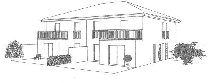Neubauprojekt Stadtvilla Doppelhaushälfte in Gütersloh-Isselhorst - Wir bauen Ihr individuell geplantes Massivhaus
