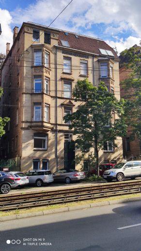 Wohnen in Stuttgart Mitte, sanierte 3,5-Zimmer-Altbauwohnung, City fussläufig erreichbar