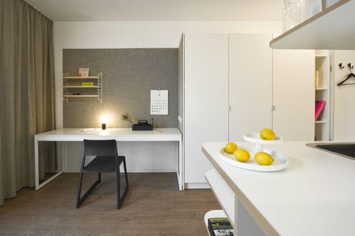 trendy, sonnig, möblierte 1 Zimmer Studentenwohnung STUDIO HOUSE BERLIN am Mauerpark
