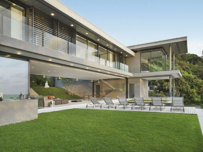 Letzes Baugrundstücke im Villenensemble inkl. Baugenehmigung: 1.645 m²