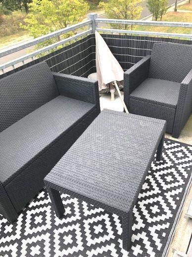 Helle und gut geschnittene Wohnung mit Balkon für WOCHENENDHEIMFAHRER!