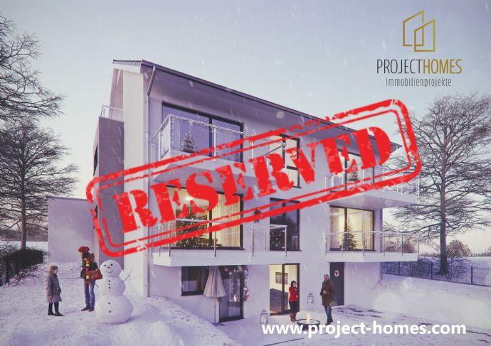 Eigentum statt Miete! Traumhafte und lichtdurchflutete 3-Zimmer-Neubau-Wohnung mit Balkon