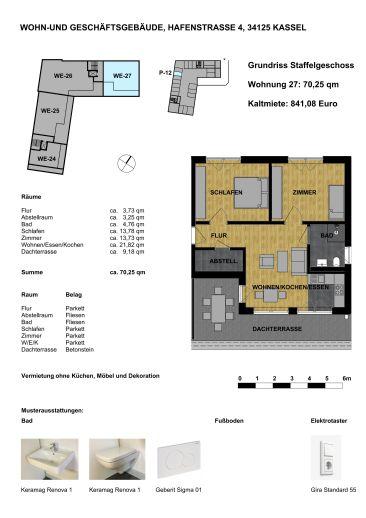 Wohnen in der Unterneustadt - Penthouse W-27