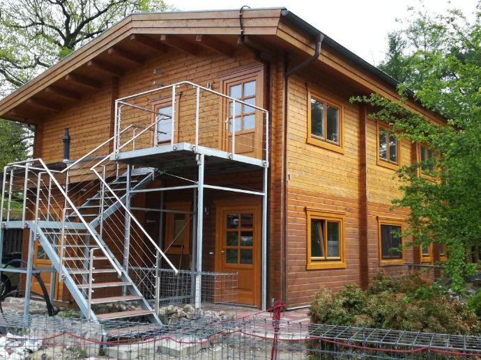 1-Zimmer, Küche, Bad Wohnung im Holzhaus (Blockbohle) OHZ Lange Heide