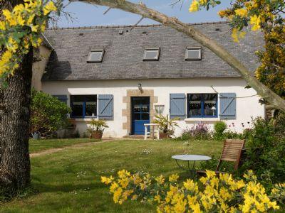 Bretagne Ferienhaus - Hortensia