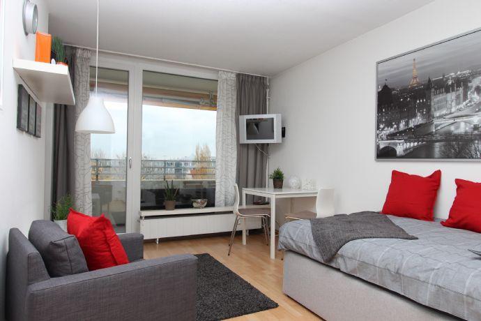 Möbliertes 1-Zimmer Apartment mit ruhiger Ostausrichtung