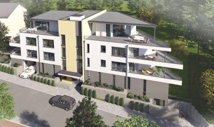 2-Zimmer-Wohnung mit Balkon und Einbauküche in ruhiger Lage, Erstbezug