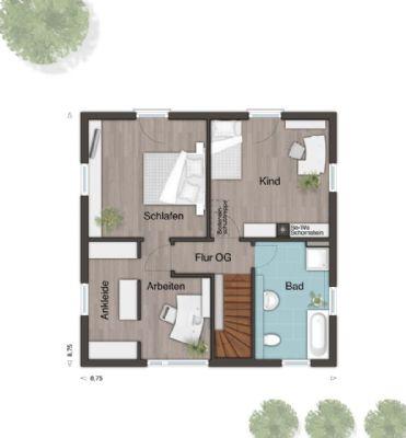neubau eines stadthauses in troisdorf stadthaus troisdorf 2cch342. Black Bedroom Furniture Sets. Home Design Ideas