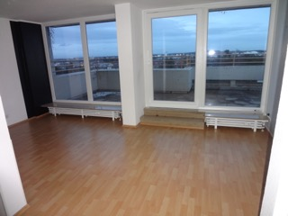 20qm Terrasse im 7 OG keine 08 15 Wohnung für Singles