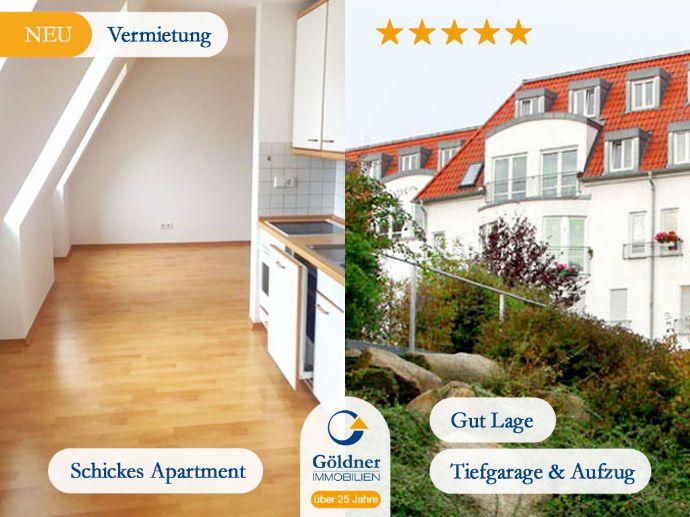 Eine gute Adresse für Ihr Geld! Schickes Apartment mit Tiefgarage in guter Lage!