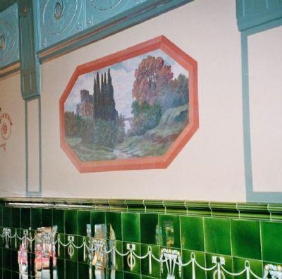 Wandmalerei Eingangsbereich