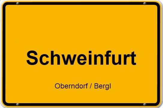 Eigentumswohnung - 3 Zimmer ETW - in Schweinfurt - Stadtteil Oberndorf nähe Bergl - auch für Kapitalanleger
