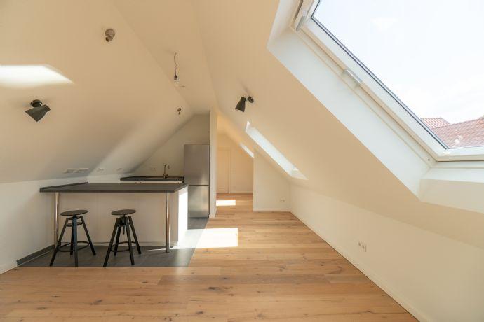 Das Leben genießen - in guter Gesellschaft - Wohnung im neuen Mertenshof (WE06 - Dachgeschoss)