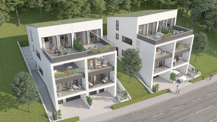 Elegante NEUBAU-Doppelhaushälfte in beliebter Lage
