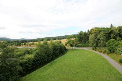 Blick ins Grüne in Richtung Augustusburg