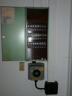 Bild 11 - Strom-Verteilerkasten