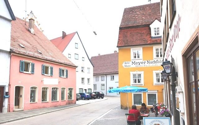 Wohn- Geschäftshaus in zentraler Lage von Nördlingen