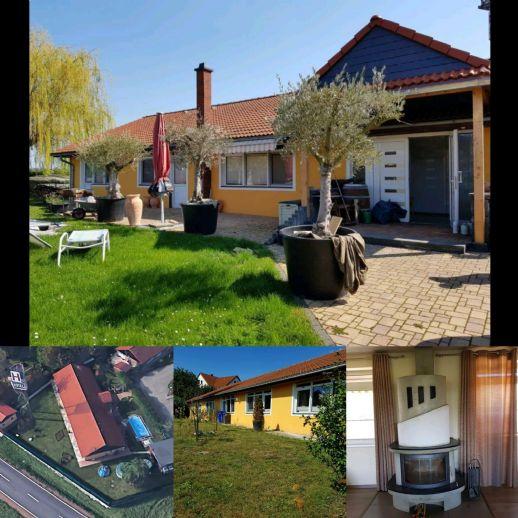Großzügiges Wohnen mit Terrasse, Garten, Pool - 9 Zi. auf 1 Ebene in Remse