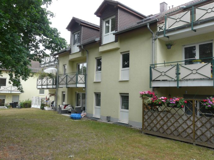 1-Zimmer-Wohnung mit Balkon im 1. Obergeschoss in Thekla mit TG-Platz
