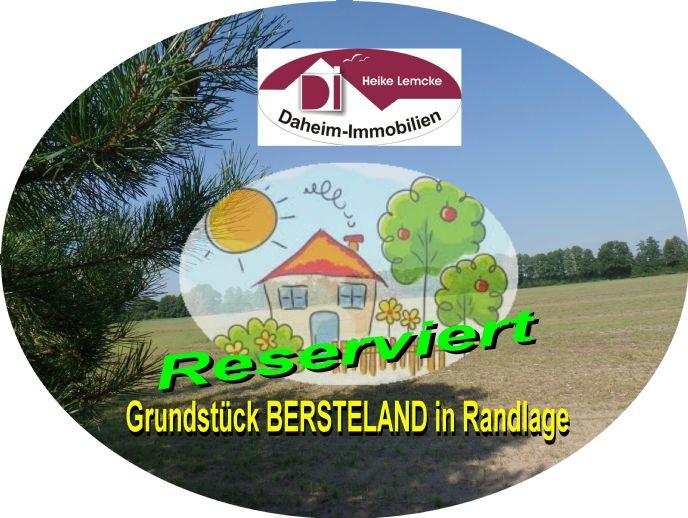 Attraktives Grundstück BERSTELAND mit Blick