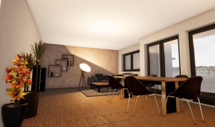 Wohnen in Kürenz, Neubau ETW 167,98 m² mit Aufzug, Terrasse, Balkon, überdachter Stellplatz